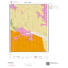 J33a2 Paftası 1/25.000 Ölçekli Vektör Jeoloji Haritası