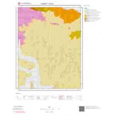 J33b1 Paftası 1/25.000 Ölçekli Vektör Jeoloji Haritası