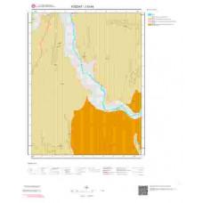J33b4 Paftası 1/25.000 Ölçekli Vektör Jeoloji Haritası
