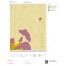 J33c3 Paftası 1/25.000 Ölçekli Vektör Jeoloji Haritası