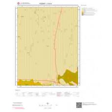 J33c4 Paftası 1/25.000 Ölçekli Vektör Jeoloji Haritası