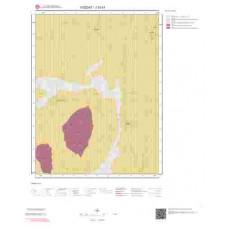 J33d1 Paftası 1/25.000 Ölçekli Vektör Jeoloji Haritası