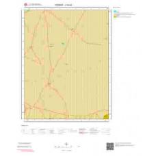 J33d3 Paftası 1/25.000 Ölçekli Vektör Jeoloji Haritası