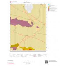 J33d4 Paftası 1/25.000 Ölçekli Vektör Jeoloji Haritası