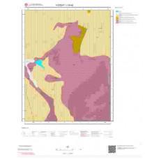 J34a2 Paftası 1/25.000 Ölçekli Vektör Jeoloji Haritası