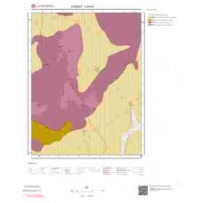 J34a3 Paftası 1/25.000 Ölçekli Vektör Jeoloji Haritası