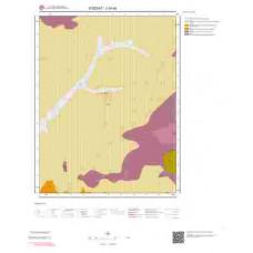 J34a4 Paftası 1/25.000 Ölçekli Vektör Jeoloji Haritası