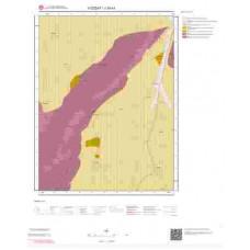 J34b1 Paftası 1/25.000 Ölçekli Vektör Jeoloji Haritası