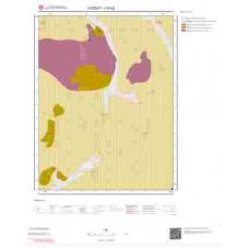 J34b2 Paftası 1/25.000 Ölçekli Vektör Jeoloji Haritası