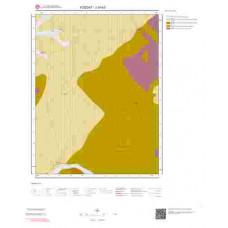 J34b3 Paftası 1/25.000 Ölçekli Vektör Jeoloji Haritası