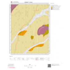 J34b4 Paftası 1/25.000 Ölçekli Vektör Jeoloji Haritası