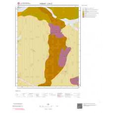 J34c2 Paftası 1/25.000 Ölçekli Vektör Jeoloji Haritası