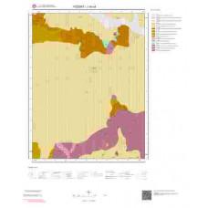J34c4 Paftası 1/25.000 Ölçekli Vektör Jeoloji Haritası