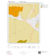 J34d2 Paftası 1/25.000 Ölçekli Vektör Jeoloji Haritası