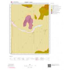 J34d3 Paftası 1/25.000 Ölçekli Vektör Jeoloji Haritası