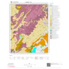 J 35 Paftası 1/100.000 ölçekli Jeoloji Haritası