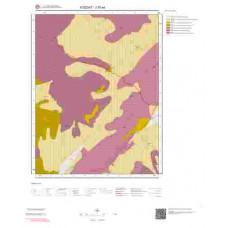 J35a4 Paftası 1/25.000 Ölçekli Vektör Jeoloji Haritası