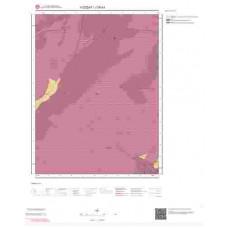 J35b1 Paftası 1/25.000 Ölçekli Vektör Jeoloji Haritası