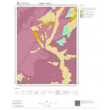 J35b2 Paftası 1/25.000 Ölçekli Vektör Jeoloji Haritası