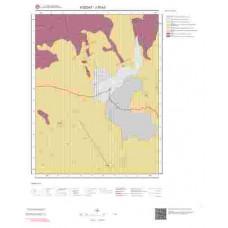J35b3 Paftası 1/25.000 Ölçekli Vektör Jeoloji Haritası