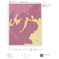 J35b4 Paftası 1/25.000 Ölçekli Vektör Jeoloji Haritası