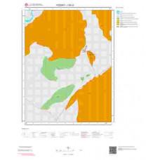 J35c3 Paftası 1/25.000 Ölçekli Vektör Jeoloji Haritası