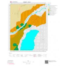 J35c4 Paftası 1/25.000 Ölçekli Vektör Jeoloji Haritası