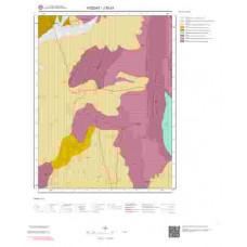 J35d1 Paftası 1/25.000 Ölçekli Vektör Jeoloji Haritası