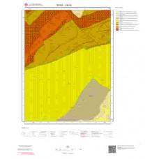 J36c2 Paftası 1/25.000 Ölçekli Vektör Jeoloji Haritası