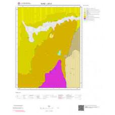 J36c4 Paftası 1/25.000 Ölçekli Vektör Jeoloji Haritası