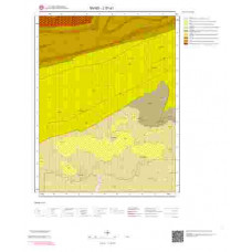J 37-d1 Paftası 1/25.000 ölçekli Jeoloji Haritası