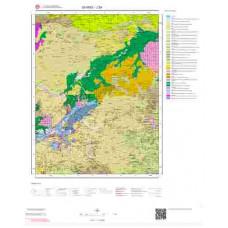 J39 Paftası 1/100.000 Ölçekli Vektör Jeoloji Haritası