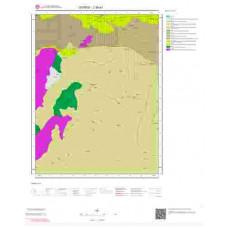 J39a1 Paftası 1/25.000 Ölçekli Vektör Jeoloji Haritası