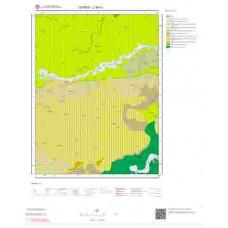 J39b1 Paftası 1/25.000 Ölçekli Vektör Jeoloji Haritası