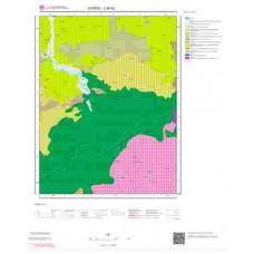 J39b2 Paftası 1/25.000 Ölçekli Vektör Jeoloji Haritası