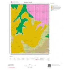 J39b3 Paftası 1/25.000 Ölçekli Vektör Jeoloji Haritası