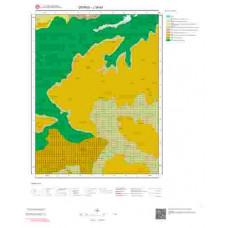 J39b4 Paftası 1/25.000 Ölçekli Vektör Jeoloji Haritası