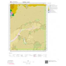 J39c1 Paftası 1/25.000 Ölçekli Vektör Jeoloji Haritası