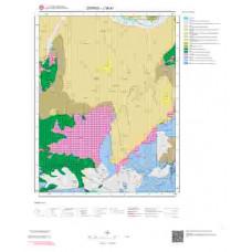 J39d1 Paftası 1/25.000 Ölçekli Vektör Jeoloji Haritası