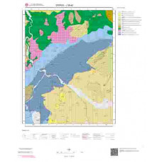 J39d2 Paftası 1/25.000 Ölçekli Vektör Jeoloji Haritası