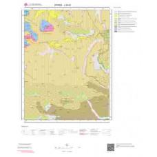 J39d3 Paftası 1/25.000 Ölçekli Vektör Jeoloji Haritası
