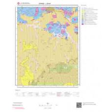 J39d4 Paftası 1/25.000 Ölçekli Vektör Jeoloji Haritası