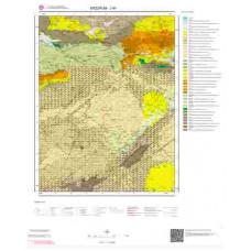 J45 Paftası 1/100.000 Ölçekli Vektör Jeoloji Haritası