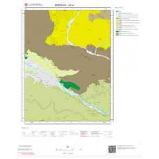 J45a1 Paftası 1/25.000 Ölçekli Vektör Jeoloji Haritası