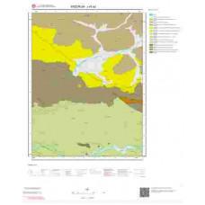 J45a2 Paftası 1/25.000 Ölçekli Vektör Jeoloji Haritası