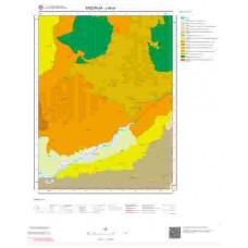 J46a1 Paftası 1/25.000 Ölçekli Vektör Jeoloji Haritası