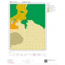 J46a2 Paftası 1/25.000 Ölçekli Vektör Jeoloji Haritası