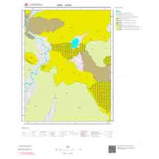 J 48-b4 Paftası 1/25.000 ölçekli Jeoloji Haritası