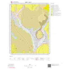 J 50-c1 Paftası 1/25.000 ölçekli Jeoloji Haritası