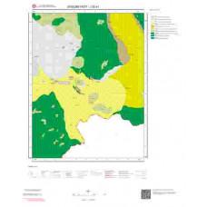 J52a1 Paftası 1/25.000 Ölçekli Vektör Jeoloji Haritası